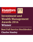 IWM Awards 2016 - Best Full Service Stockbroker