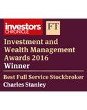 IWM Awards 2016 - Best Full Service Stockbroker
