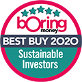 Boring Money - Sustainable Investors 2020
