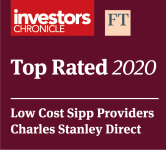 Top Rated 2020 Low Cost Sipp Provider Award