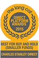 Best for Buy and Hold - Direct Platform Awards 2015