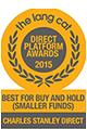 Best for Buy and Hold - Direct Platform Awards 2015