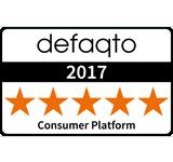 defaqto 2017 Consumer Platform Award - 5 Stars