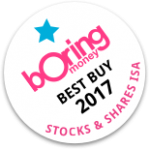 Boring Money Best Buy 2017 - Stocks & Shares ISA