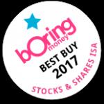 Boring Money Best Buy 2017 - Stocks & Shares ISA