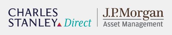 Charles Stanley Direct and J.P.Morgan Asset Management logos