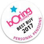 Boring Money Best Buy 2017 - Personal Pensions