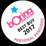 Boring Money Best Buy 2017 - Personal Pensions