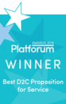 Platforum Winner 2016 - Best D2C Proposition for Service